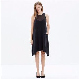 Madewell Parkview Silk Midi Dress